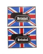 Bristol 10 Tractor Tank Stickers x 2 (1939 to 1941)